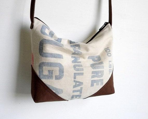 Sugar Sack Slouch Cross Body Bag