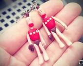 Clayman Earrings inspired by The Neverhood