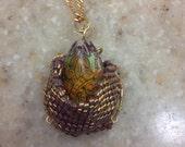 Dragon Egg Mood Color Change Necklace
