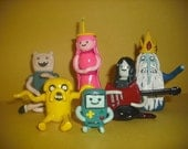 Custom Order: Reserved for Terbear - Adventure Time Group