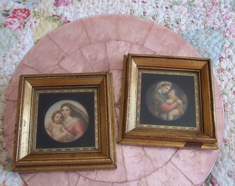 Beautiful Framed Raphael Art
