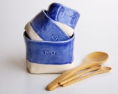 Blue Spice Cellars- nesting ceramic vessels by RossLab (made to order) - RossLab