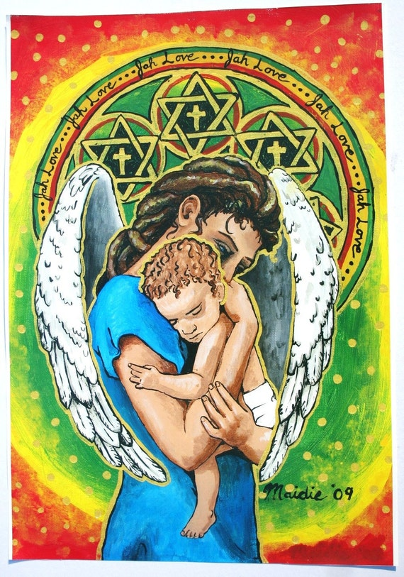 JAH Love, Mother and Child, Angel of Mercy