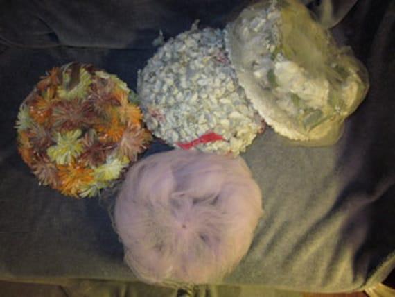 Reserved for Krista-Lot of 20 Vintage Hats