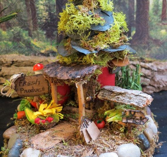 Fairy House, Fristen Farm, Miniature House, Country Miniature, Woodland Fairies, Miniature Art