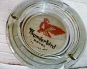 Vintage Ash Tray Thunderbird Hotel Las Vegas Deco Hollywood Regency