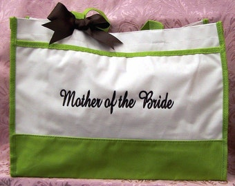 Personalized Tote Bags Wedding Mother of Bride Mother of Groom