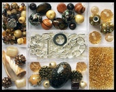 Complete Bead Kit - Make Your Own Jewelry - BEDOUIN JEWELS - Charm Bracelet