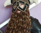 Bearded Berserker Helm