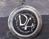 Dumbledore's Army LOCKET necklace