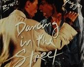 David Bowie and Mick Jagger - Dancing in the Street - 45 Single with picture sleeve