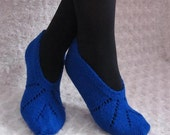 Wonderful Christmas Gift,Hand Knitted Slippers Wool