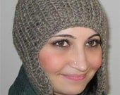 Hand Knitted Hat 100% wool