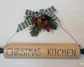 Christmas Kitchen Rolling Pin