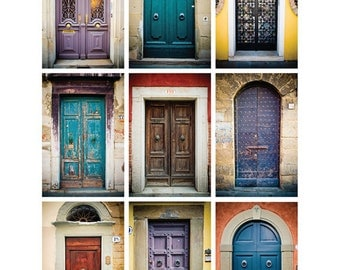 Doors of Europe (Colors): 8x10 Digital Download
