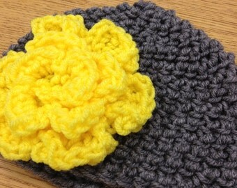 Large Flower Hat