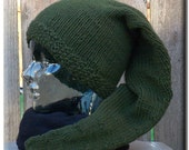 Link Hat - Hand Knit - FREE SHIPPING