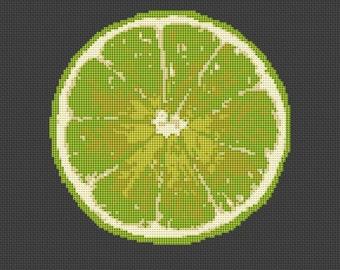 Cross stitch kit - Lime Fruit