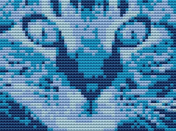Kitty Quick Stitch - Counted Cross Stitch Kit Choose Your Own Colour
