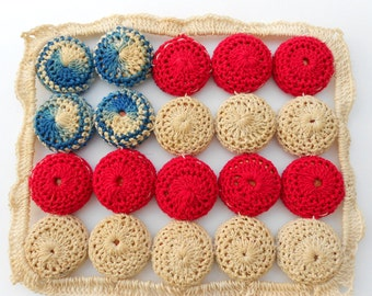 Patriotic Flag bottle cap trivet