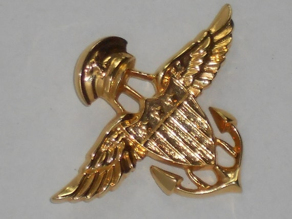 Winged Military Brooch