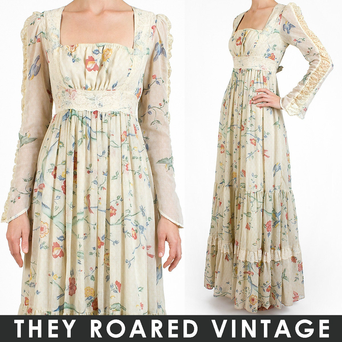Collection Vintage Maxi Dresses Pictures - Reikian