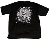 Air Cooled Motor Shirt, Men's Adult Size Large