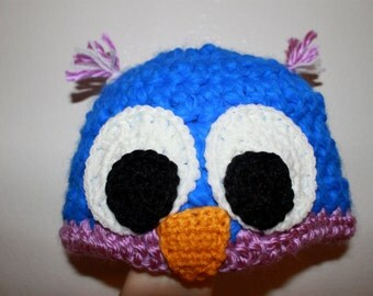 Owl Beanie -Made To Order-