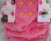 OS Pocket Cloth Diaper - Cupcake