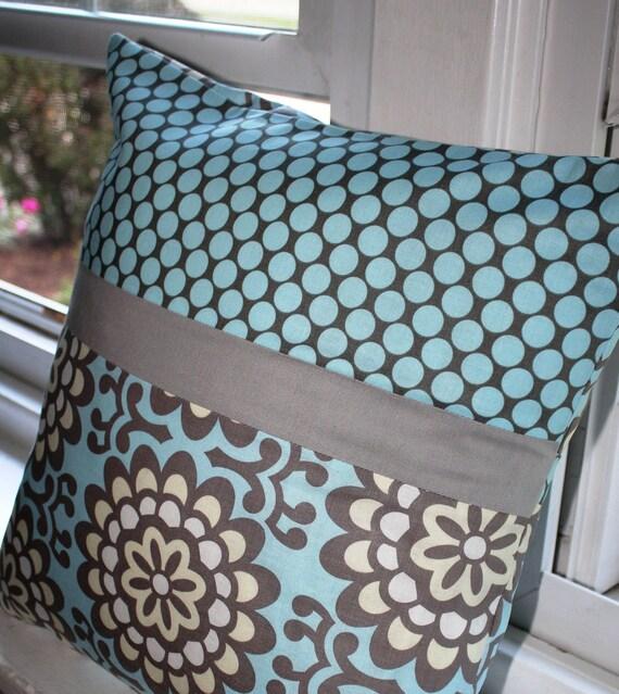 16x16 Lotus Pillow Cover