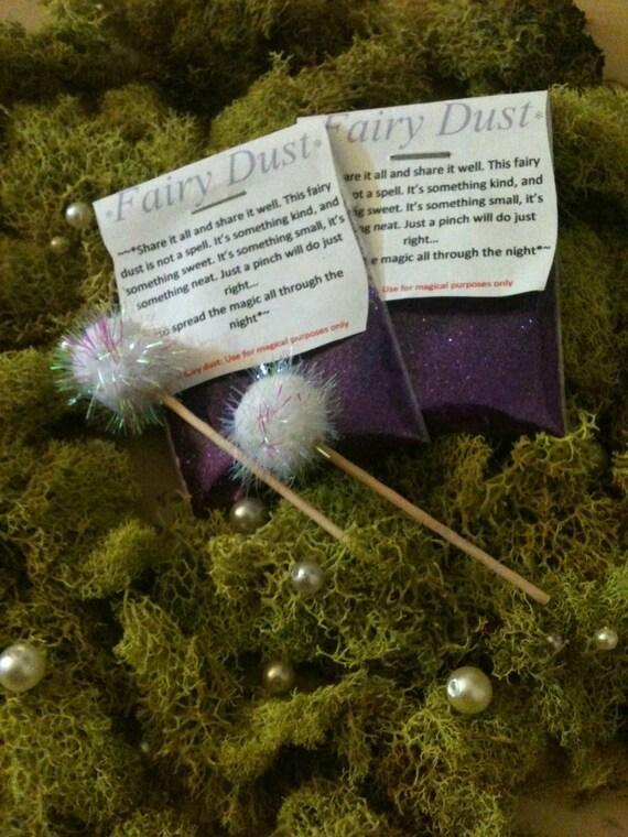 Fairy Dust: lavender fairy