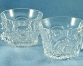 Pair of Cut Glass Punch Cups