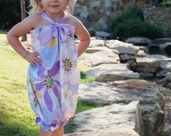 Violet Fields Bubble Top/Dress - Size 6 mo. to 2T (larger sizes available)
