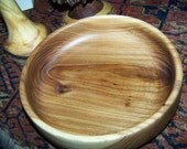 Siberian Elm Bowl, food safe, all natural, reclaimed wood