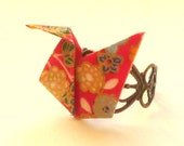 """Origami Ring """"Ducky Duck the 3rd"""""""