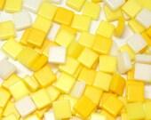 Acrylic Mosaic 5x5mm tiles - Yellow Mix