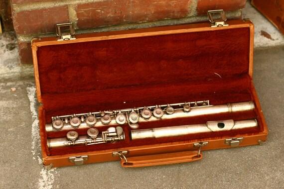 FINAL SALE  - Reynolds Flute/ Vintage Instrument/ Home Decor