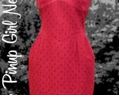 RESERVED for VintageDiva60: Vintage Valentino Sweetheart Dress with Pockets