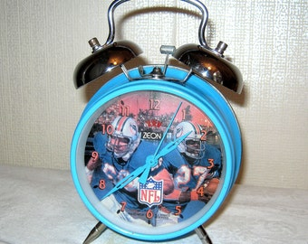 American Football alarm clock blue NFL