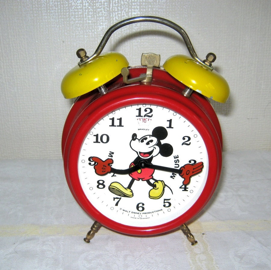 Mickey Mouse Alarm Clock Mouse Alarm Clock
