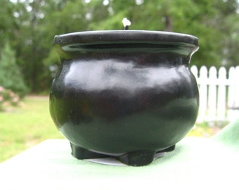 Cauldron Molded Candle