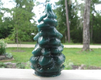 5 Inch Evergreen Tree Candle