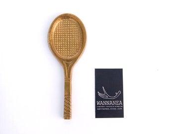 Brass Tennis Racket