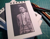 Handmade Vintage 1920's Mug Shot Journal/Notebook/Sketchbook