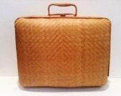 Vintage Wicker Case