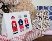 Tis the Season to be Jolly - Designer Christmas Card: Three Wise Men