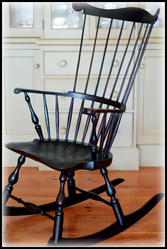 Windsor Comb Back Rocking Chair