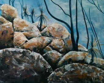 Landscape Painting Acrylic on Canvas
