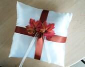 Ring Bearer Pillow- Fall- Customized