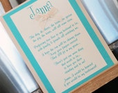 Will You Be My Bridesmaid Card, Bridesmaid Card, Maid of Honor- Custom made and personalized
